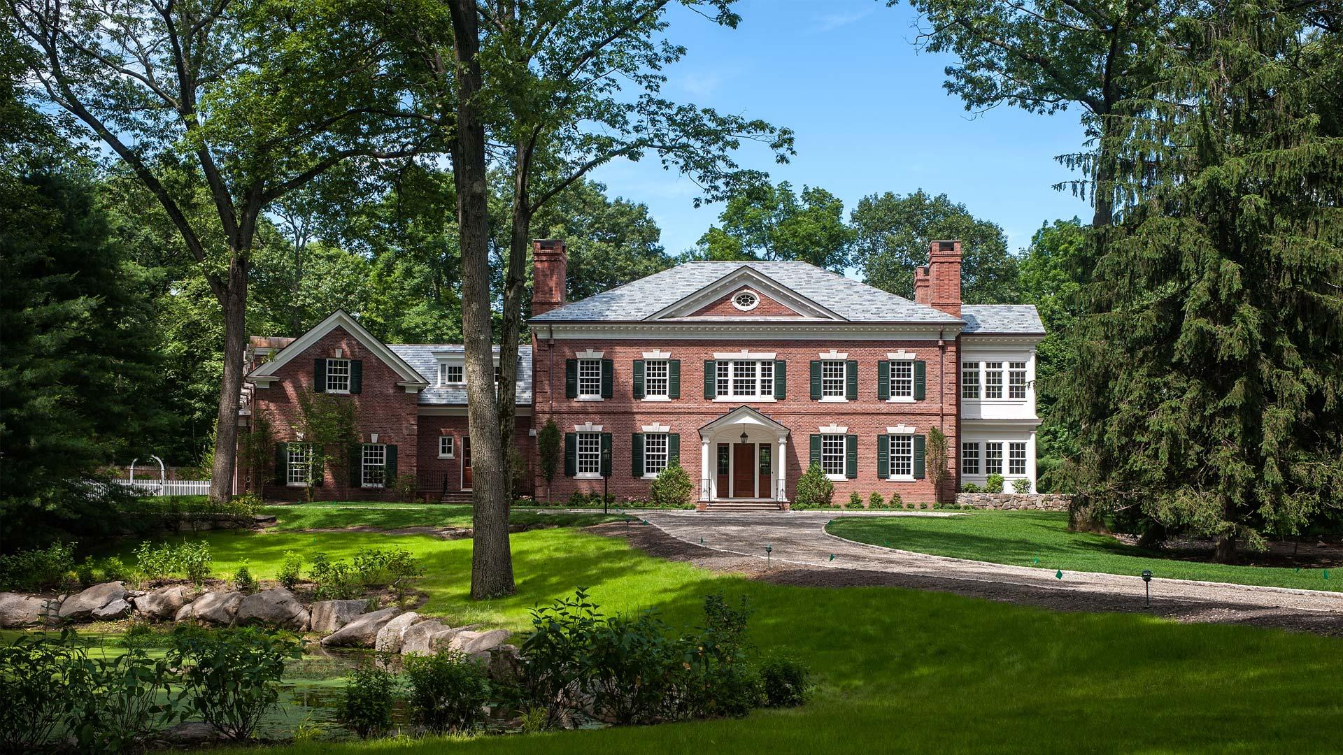 Background Property Developments : Greenwich custom homes